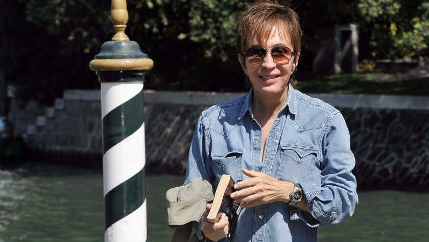 Michael Cimino arrives at the Hotel Excelsior during the 69th Venice International Film Festival.