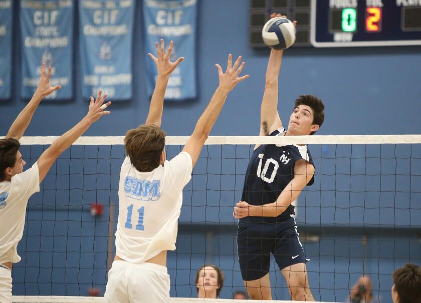 Photo Gallery: Newport Harbor vs. Corona del Mar in boys' volleyball
