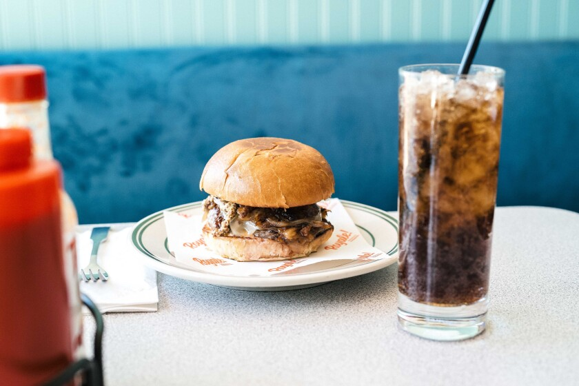 The Royale Burger.