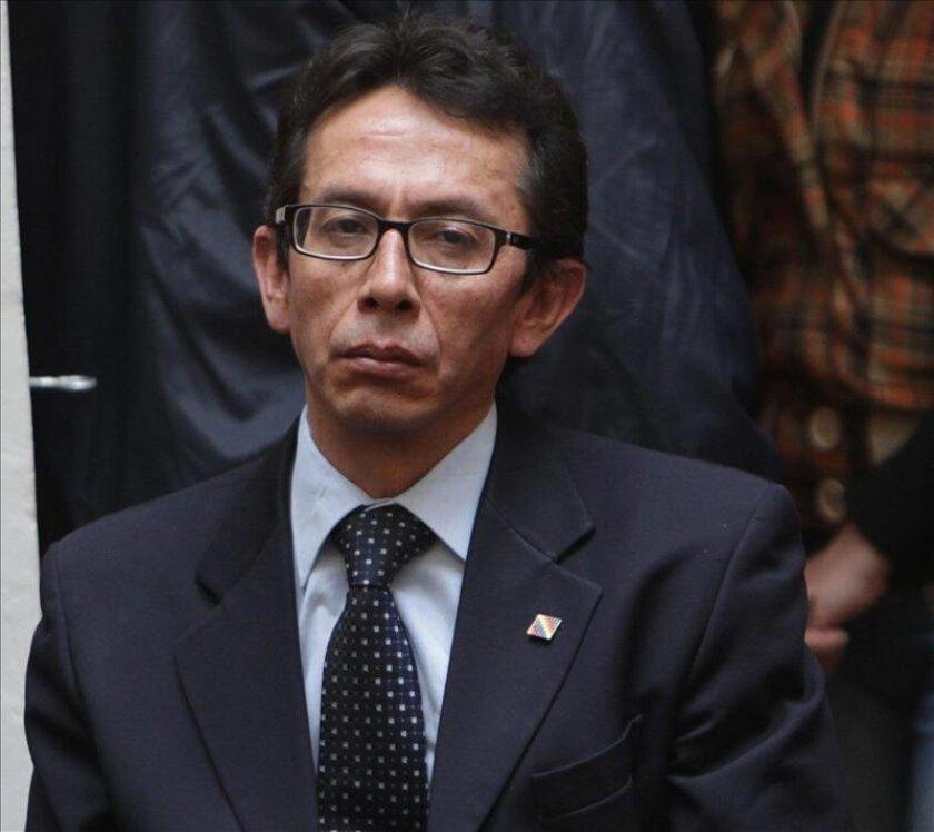 En la imagen, el ministro boliviano de Culturas, Pablo Groux. EFE/Archivo