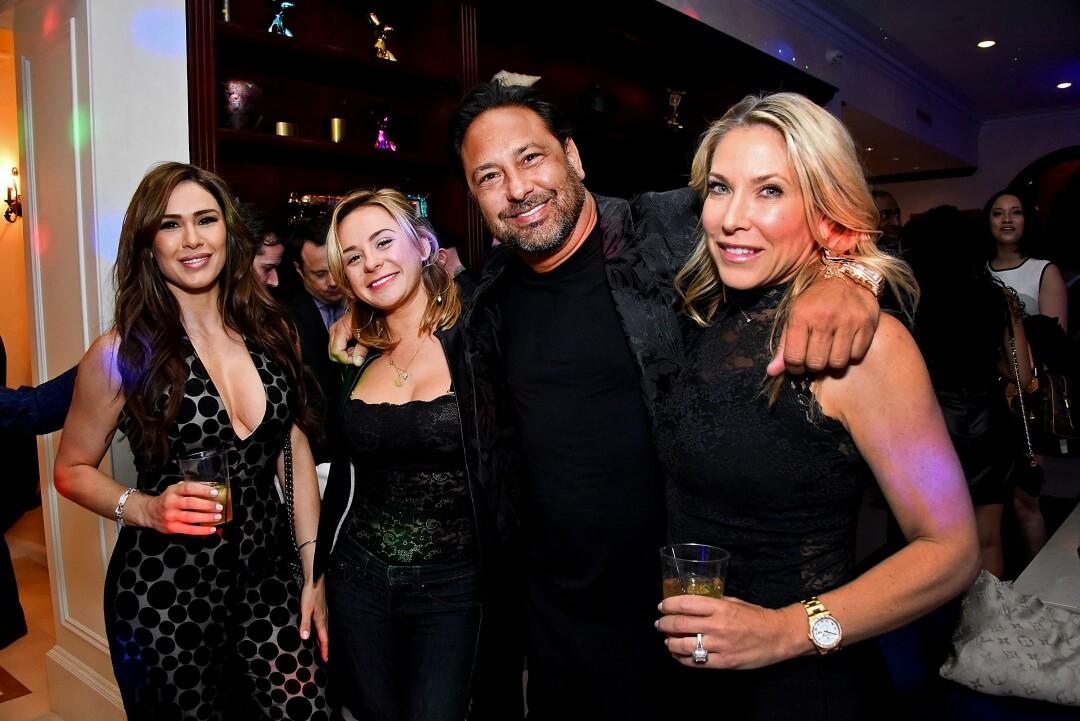 Mila Scharg, left, Madison Pappas, Nile Niami and Jenny Mandel