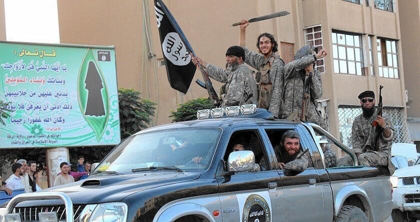 Islamic State in Raqqah, Syria