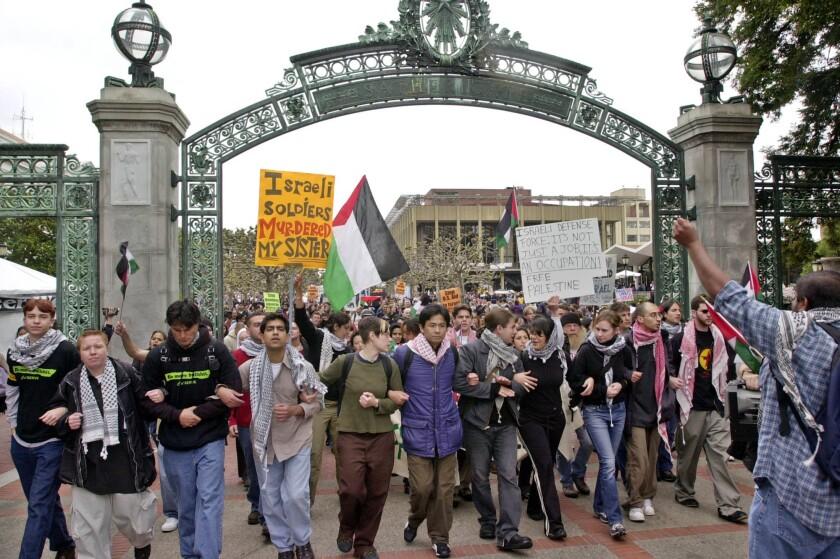 PALESTINIAN protest Israel anti-semitism