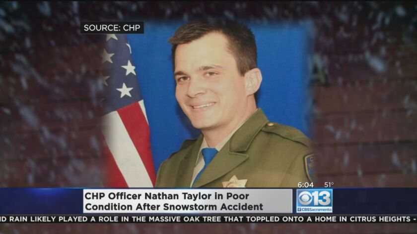 CHP officer dies after being struck by passing vehicle