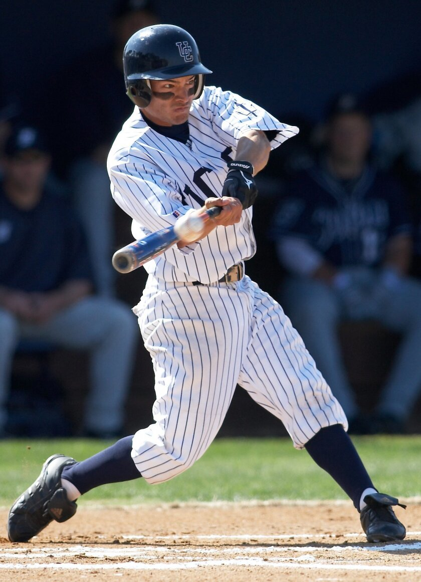 Shortstop Vance Albitz, the Division II Defensive Player of the Year last season, is hitting .342 for the Tritons.
