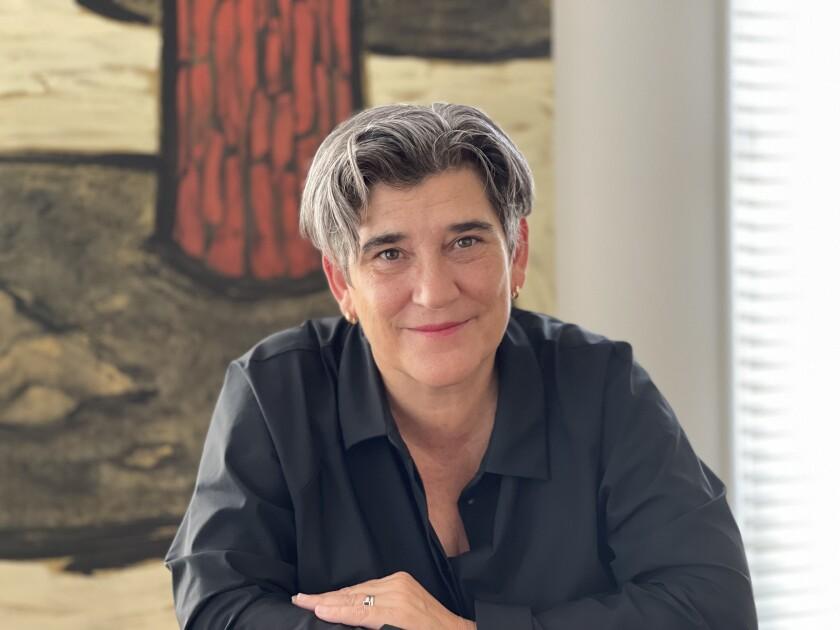 A portrait photograph of a woman