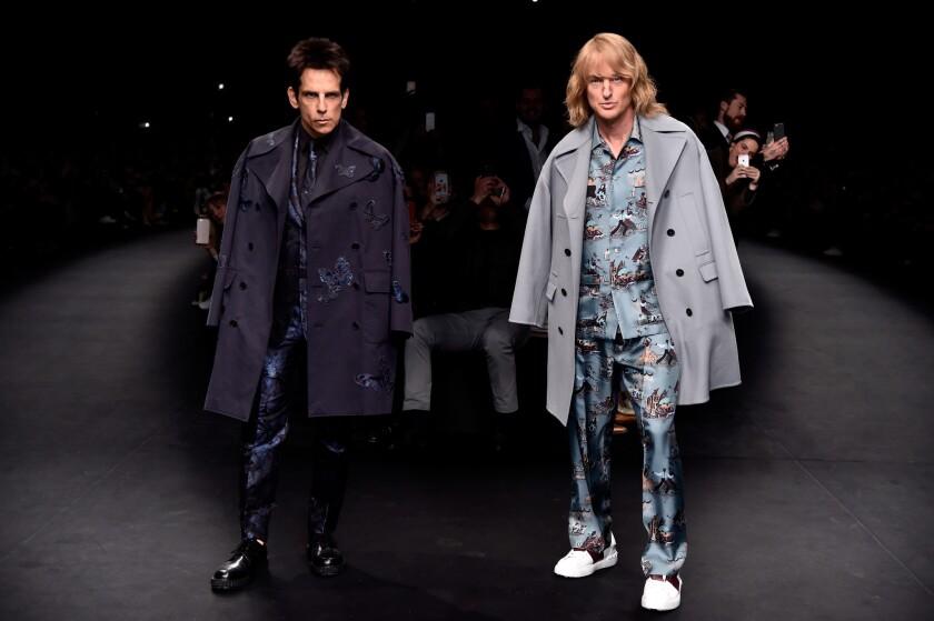 'Zoolander 2' at Paris Fashion Week