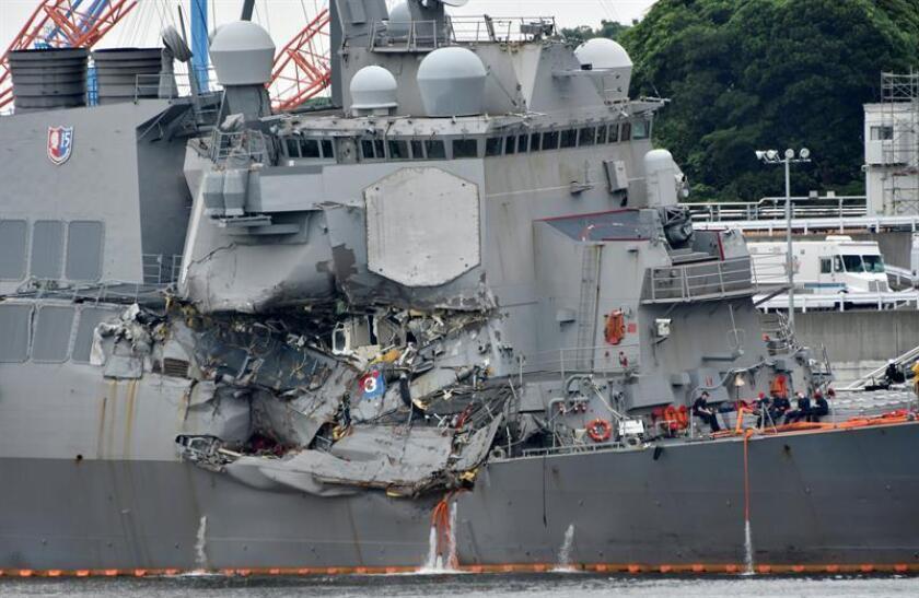 La Armada cree que los accidentes de dos de sus buques fueron evitables
