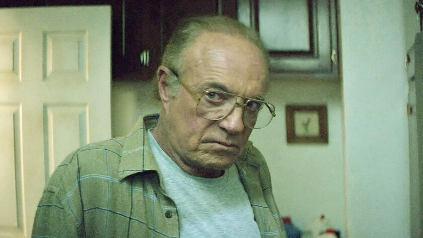 """James Caan in the movie """"The Good Neighbor."""""""