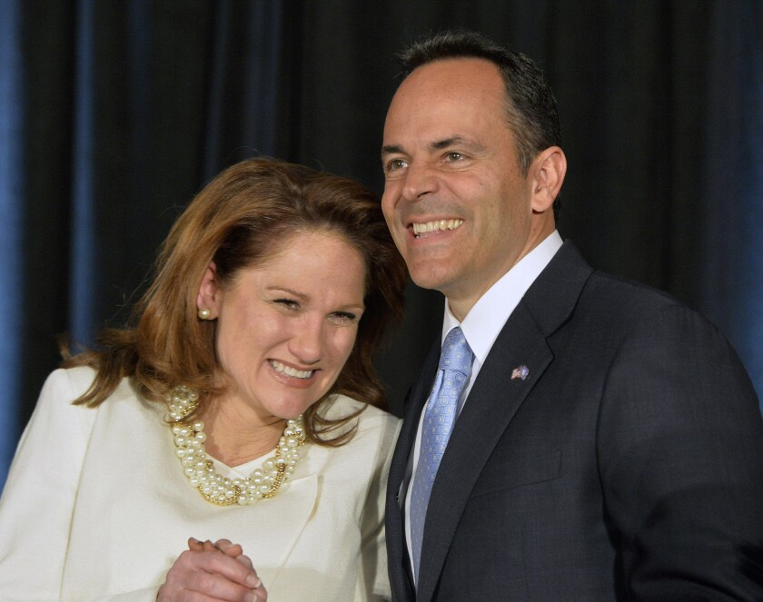 Matt Bevin wins Kentucky governorship