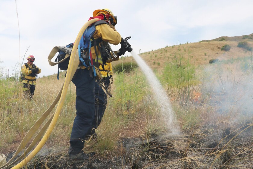 Ramona Municipal Water District Directors Thomas Ace and Jim Hickle will review Cal Fire's emergency services contract.