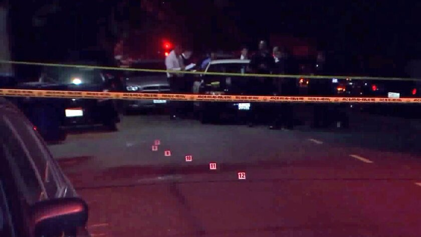 A homicide investigation is underway in Reseda after a body was found.