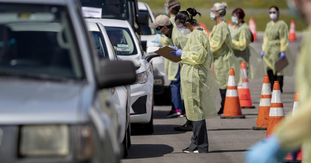 Riverside County sheriff ' s Stellvertreter stirbt der coronavirus als Maut für die Strafverfolgung wächst