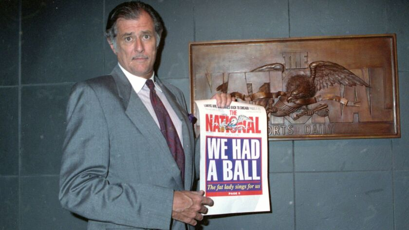 Frank Deford was editor and publisher of the National Sports Daily, which closed in 1991.