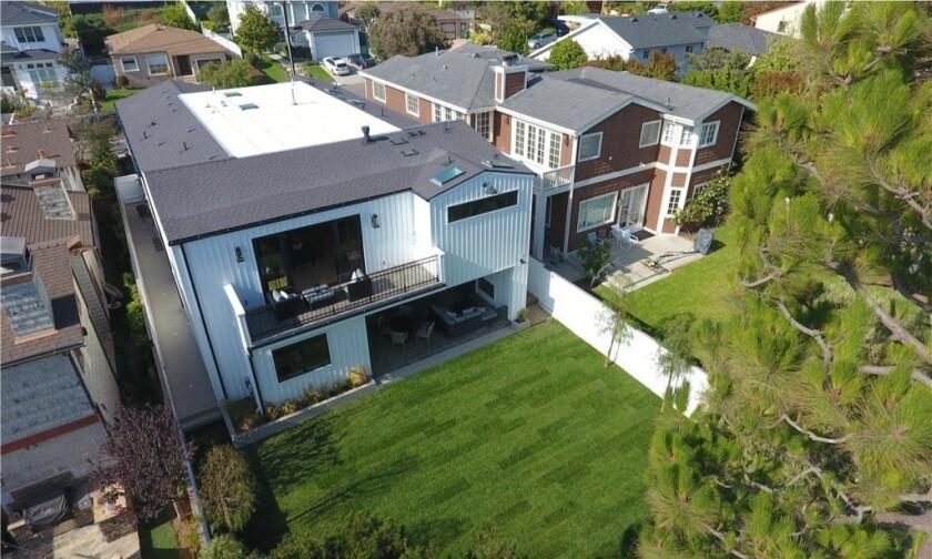 Ryan Clady's Manhattan Beach farmhouse