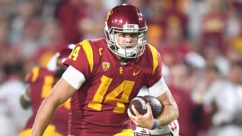 The Sam Darnold Of Old Is Back And He S Brought Usc New
