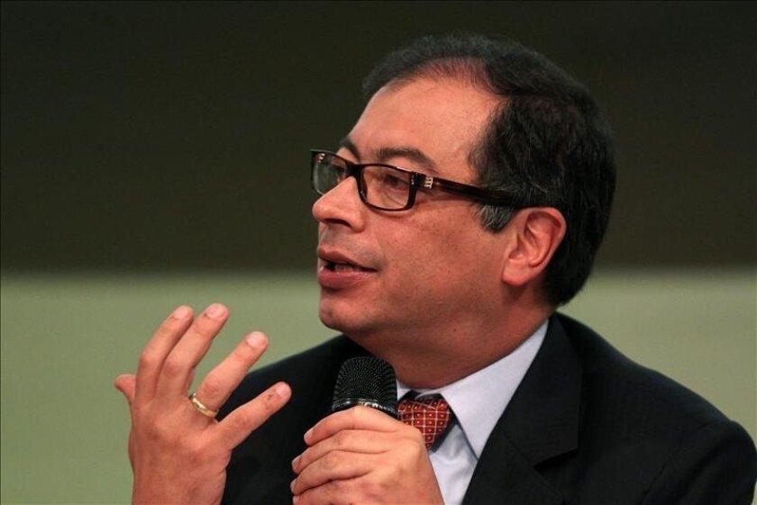 Bogota Mayor Gustavo Petro. EFE/File