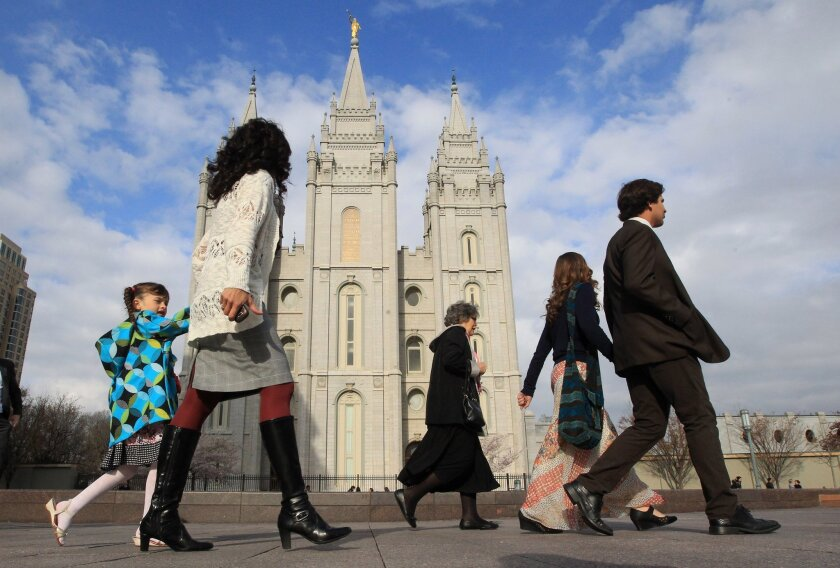 The Mormon Church reserves the priesthood and highest leadership positions for men but has made changes in recent years to involve women.