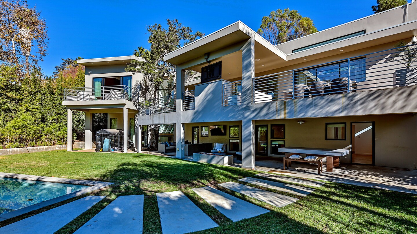 Boxer Andre Berto is asking $8.995 million for his contemporary-style home in Beverly Hills. The two-story house, built in 2016, features an open-concept floor plan, a home theater and patio space on both levels.