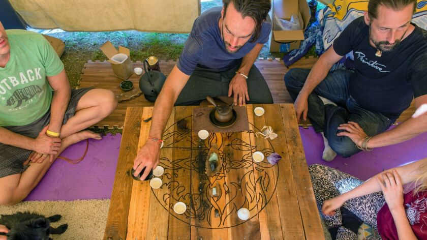 A 'tea tent' is one of the activities at the upcoming Elements Gathering campout. Credit - Elements