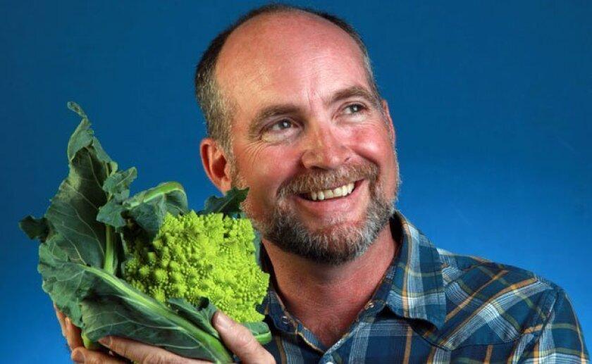 Robin Taylor, organic farmer at Suzie's Farm and Sun Grown Organic Distributors. And U-T Superdiner.
