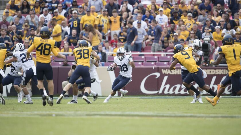 16FTB at West Virginia 0136 16FTB at West Virginia BYU Football vs West Virginia at FedEx Field in