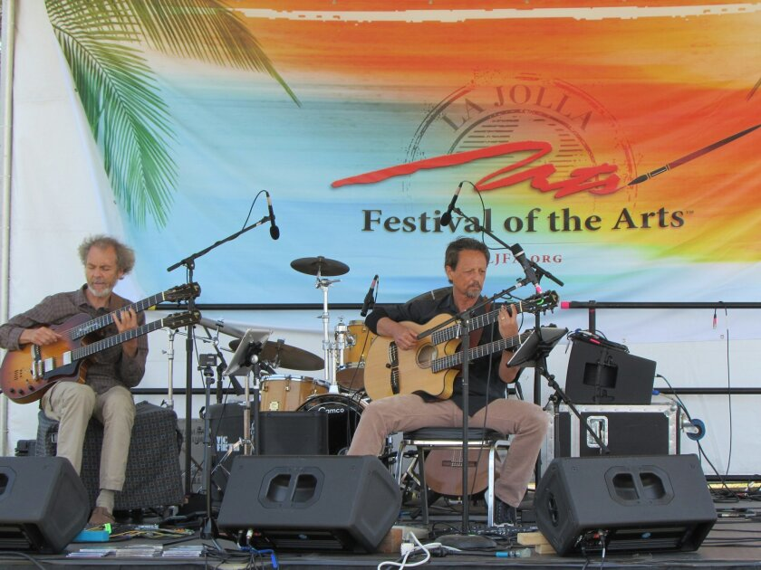 Jazz guitarist Peter Sprague performs at the 2014 La Jolla Festival of the Arts.