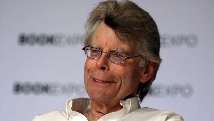 "Stephen King's next novel is ""The Institute."" Its publisher likens it to two of King's previous works, ""It"" and ""Firestarter."""