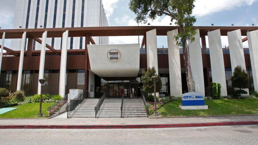 Compton City Hall.