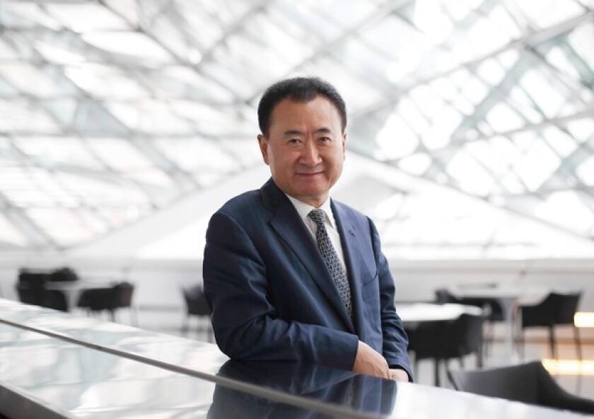 Billionaire Wang Jianlin is chairman and president of Dalian Wanda Group.