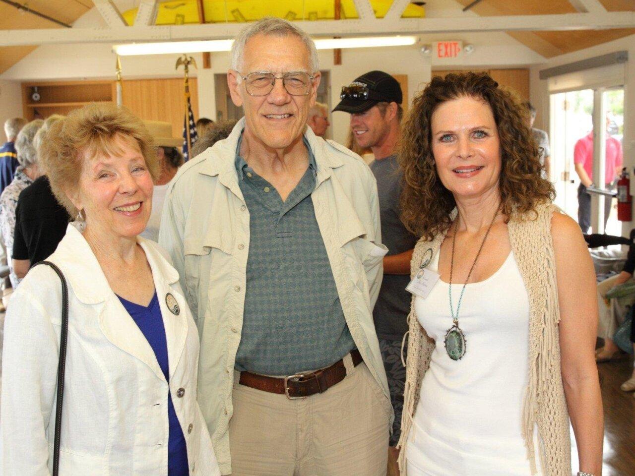 Judy and Jack Hegenauer, Lesa Heebner (city council)