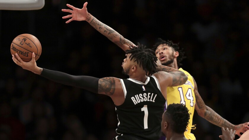 D'Angelo Russell, Brandon Ingram