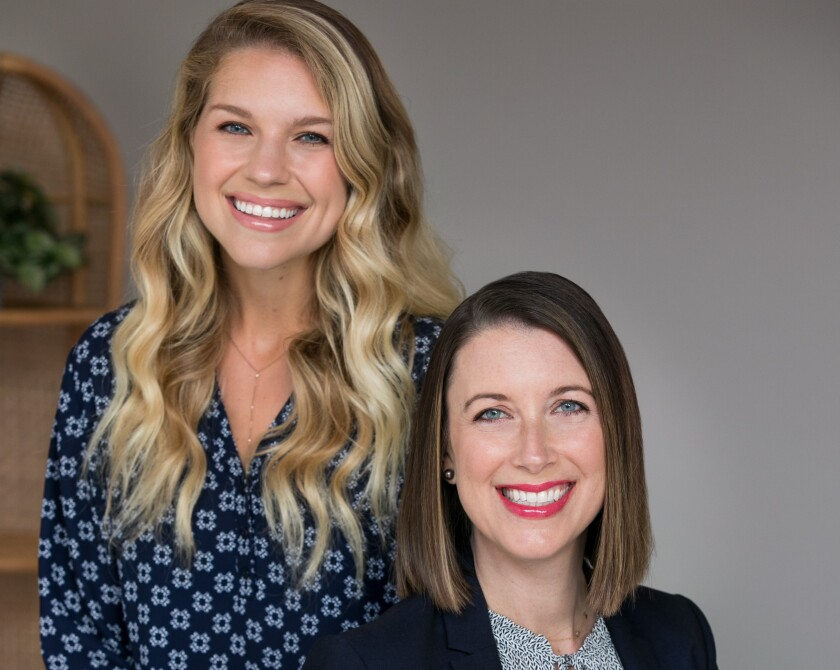 Equip founders Kristina Saffran and Erin Parks