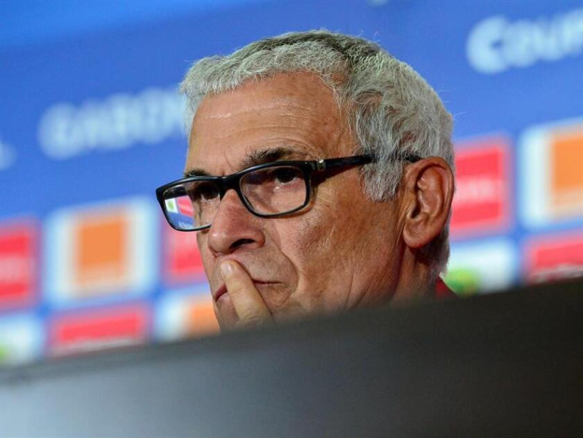 Hector Cuper, coach of Egypt. EFE/Archivo