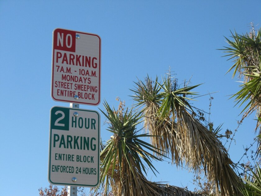 The city of San Diego will begin enforcing parking regulations again Thursday, Oct. 1.