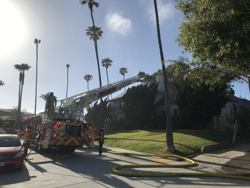 A fire that broke out in a house on Avenida Cresta in Lower Hermosa on May 23 caused $90,000 in property damage.