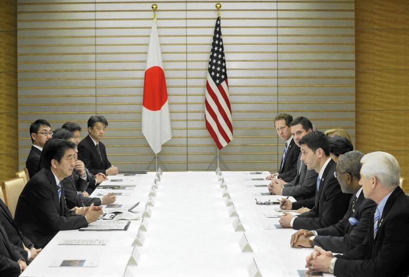 U.S.-Japan discussions