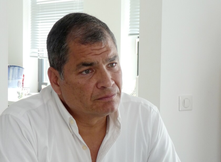 Belgium Ecuador Correa