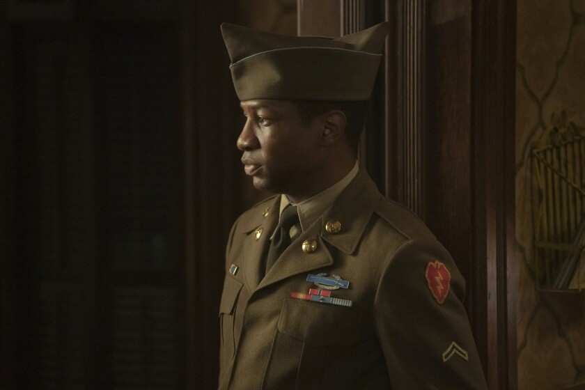 """Jonathan Majors in """"Lovecraft Country""""."""