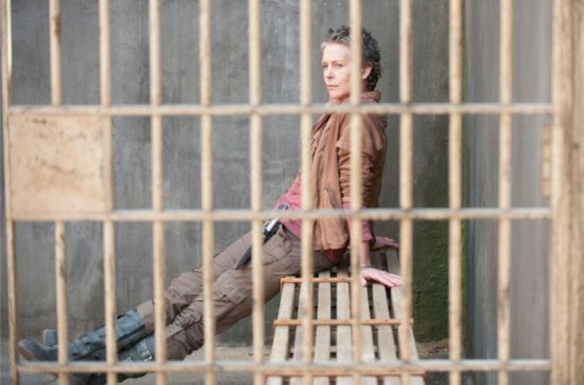 """Melissa McBride plays Carol in """"The Walking Dead."""""""