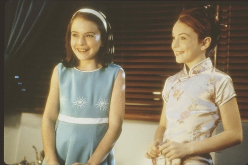 """Lindsay Lohan in """"The Parent Trap"""""""
