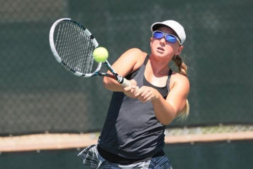 Britt Pursell, who will be a freshman at El Camino, received a wild-card entry into this week's USTA 16s national championship in San Diego.