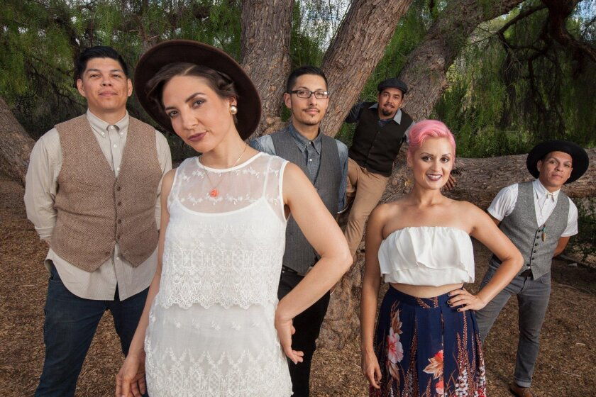 Las Cafeteras will bring their unique East L.A. sound to the California Center for the Arts, Escondido. Rafael Cardenas photo
