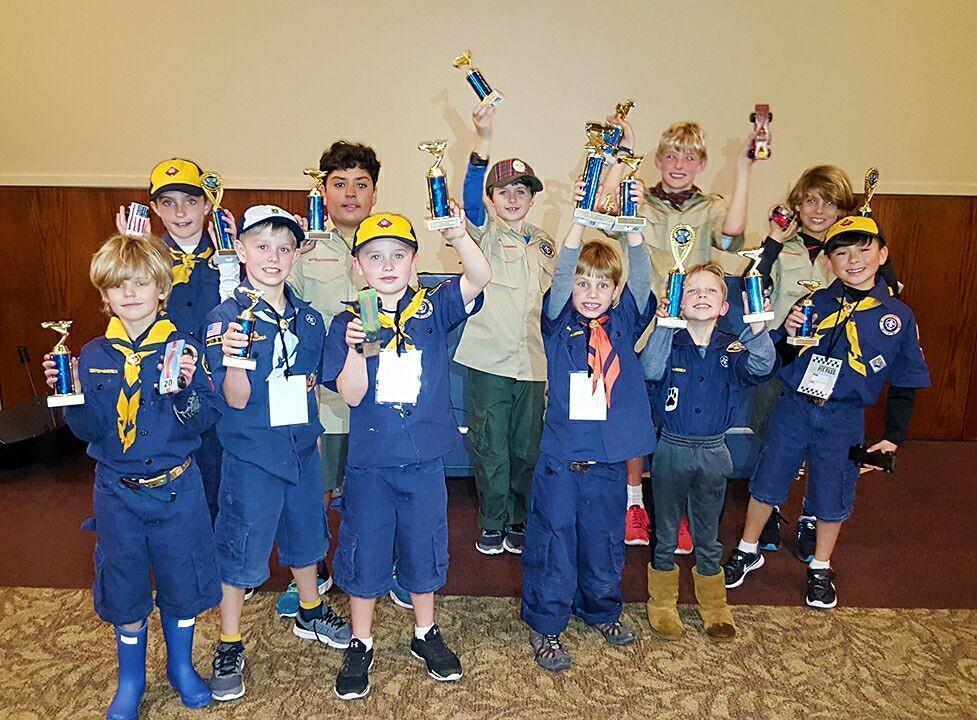 Pinewood Derby 2017 winners