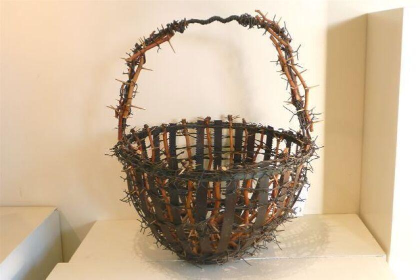 Gift pick No. 8: Karl Vidstrand barbed wire baskets