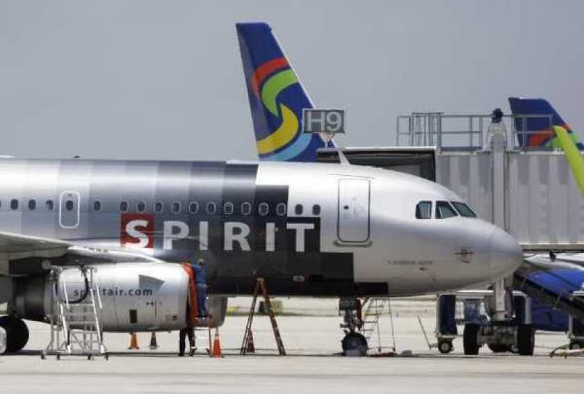 Spirit Airlines considers itself a no-frills airline.
