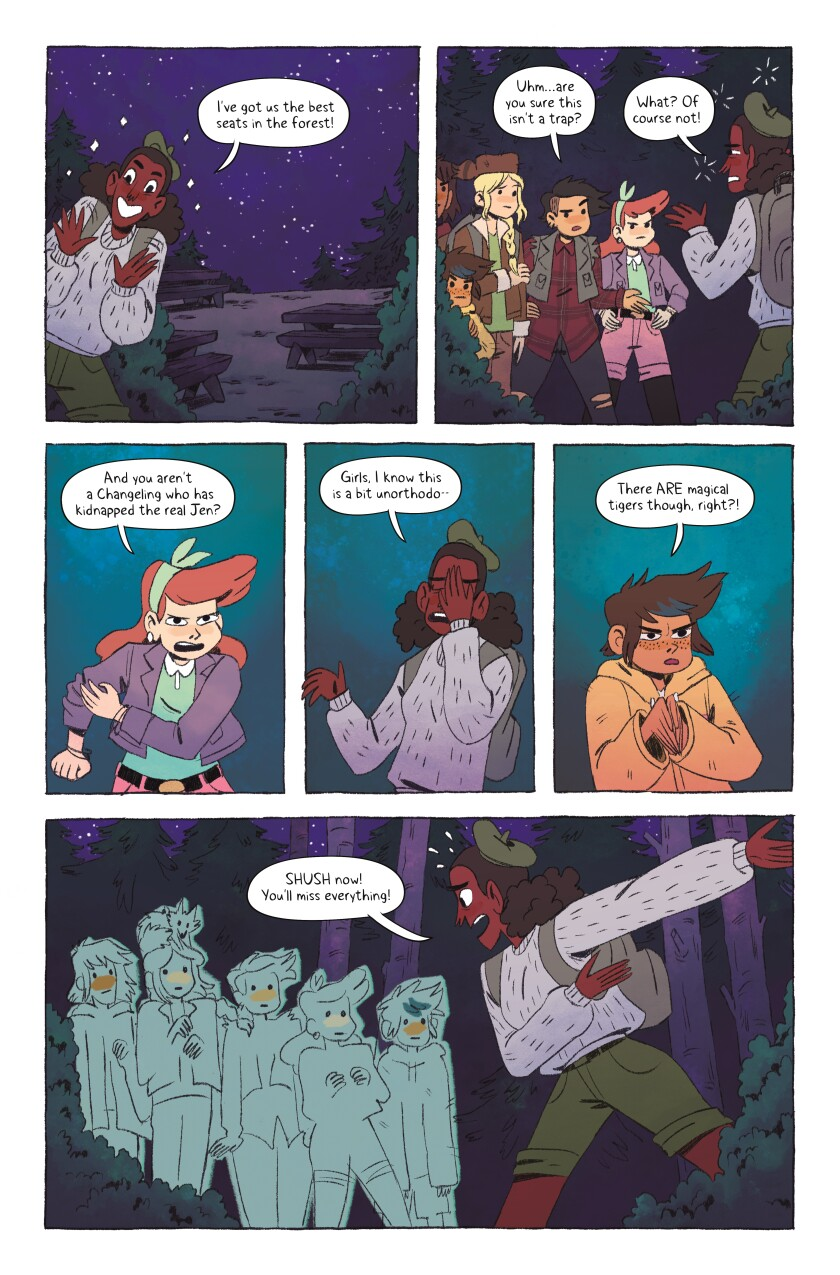 'Lumberjanes: Farewell to Summer'
