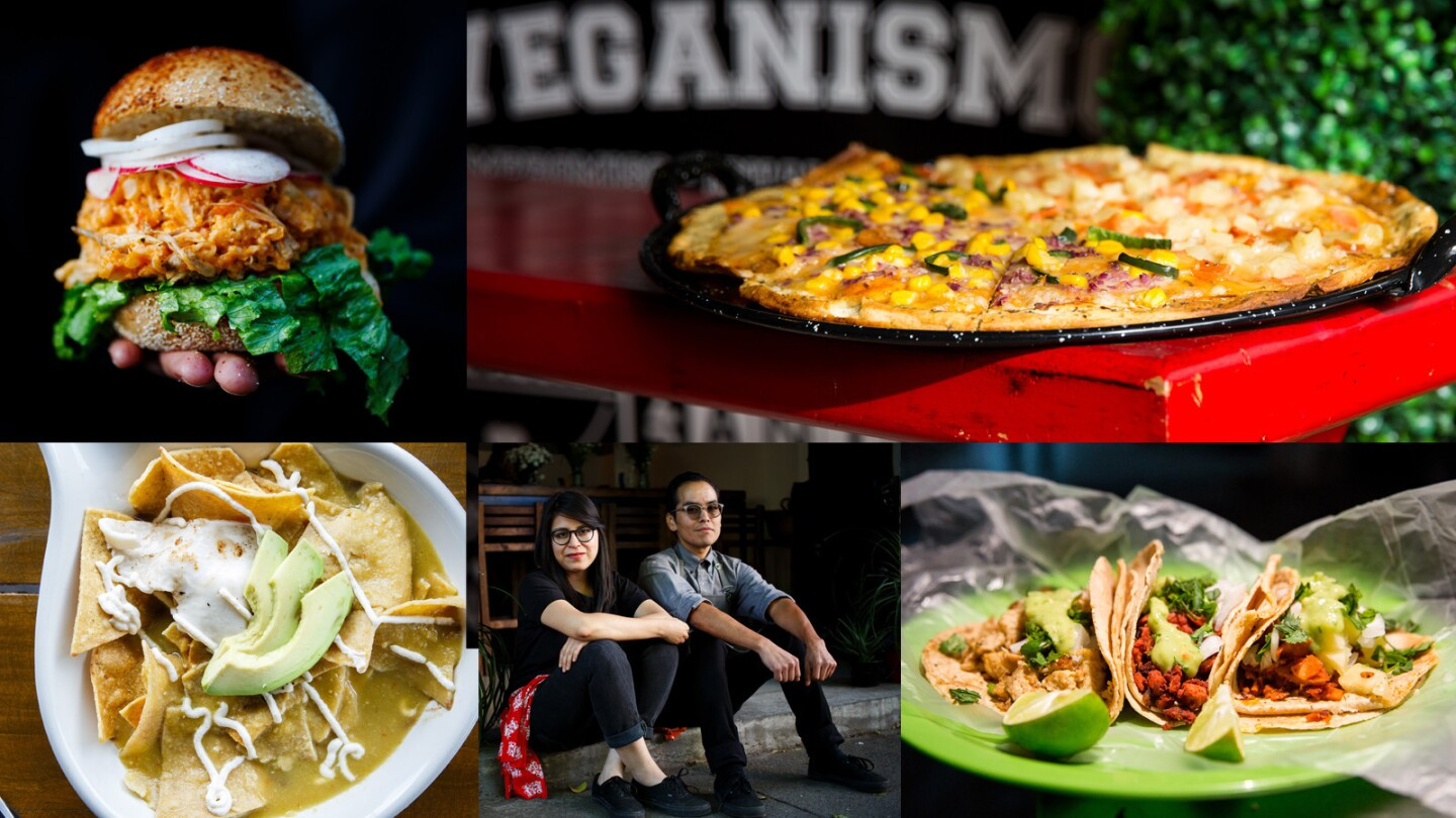 From pozole sandwiches to vegan chilaquiles, you can enjoy the flavors of Mexico City: Vegan style.