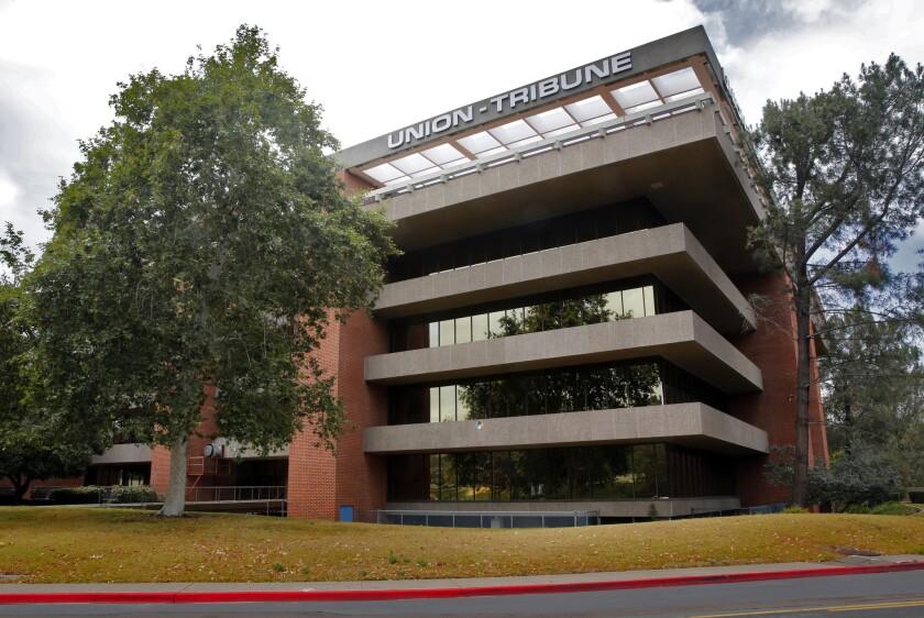 San Diego Union-Tribune announces layoffs