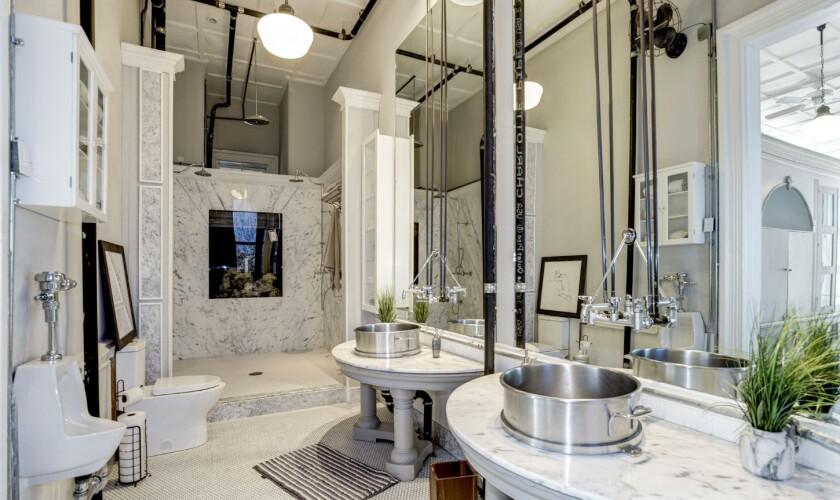 Dwight Howard's penthouse in Washington, D.C.